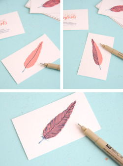 I love hand crafted cards/prints.. this is so lovely and easy to do :)