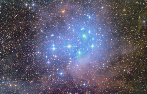 M45  The Seven Sisters  Copyright: José Francisco Hdez