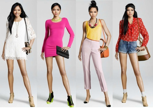 Pinay International Model CHARLENE ALMARVEZ in H&M Online Looklet. Read More: http://tinyurl.com/7k2qeon