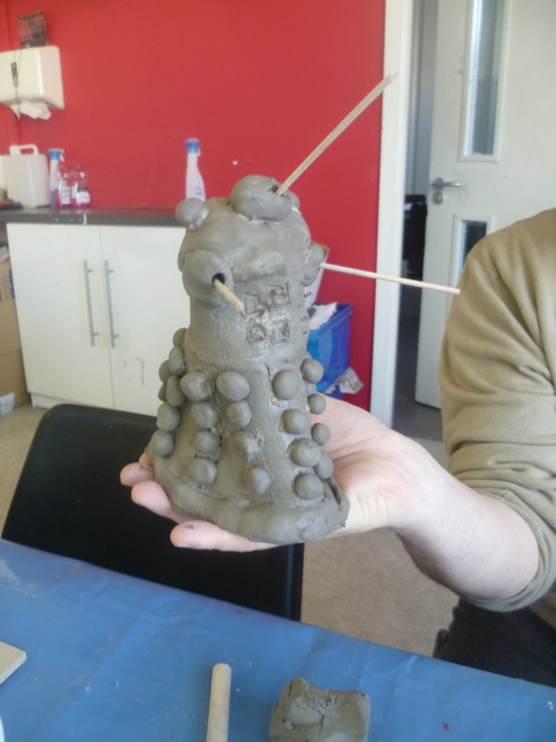 Barry's Dalek made for John's Doctor Who themed party