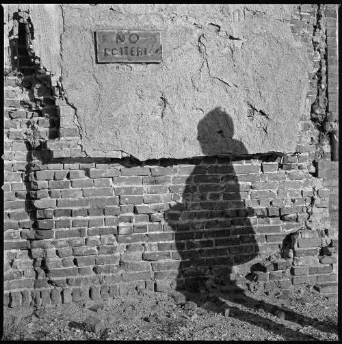 No Loitering Hasselblad 503cx, Kodak Tri-X, Rodinal October, 2011