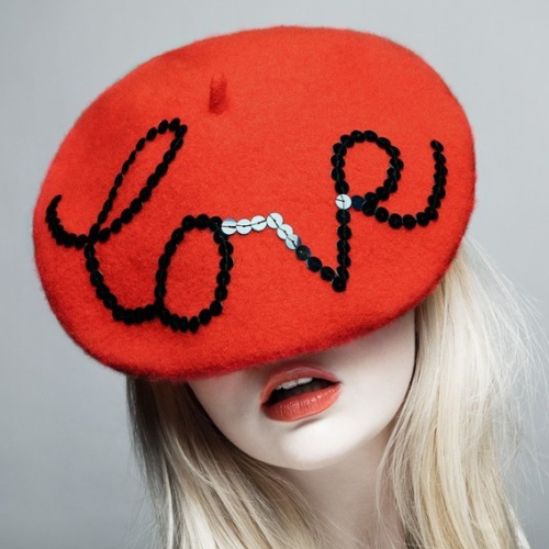 have-to-have:  The Love Beret.  Wearing my hearts from head to toes this Valentine's Day.  This hat is so adorable. Perfectly stylish.