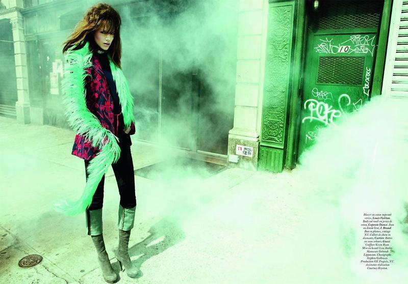 Freja Beha Erichsen| Ph. Inez Van Lamsweerde and Vinoodh Matadin| Vogue Paris {Diva} May 2011