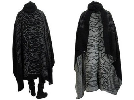 flavorpill:  Unknown. Pleasures. CLOAK. Goth poncho. We want to go to there.   What. The. Fudge. I want, I want, I want.
