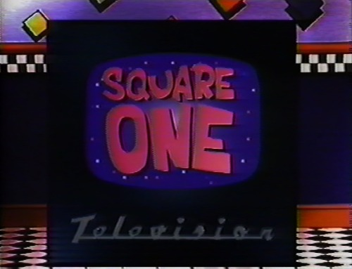 sesamestreet:  Happy Birthday to Square One TV, which turns 25 today.  Here's a memory from one of us.