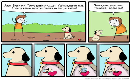 (via Buttersafe – Updated Tuesdays and Thursdays » Archive » Dig Dog)