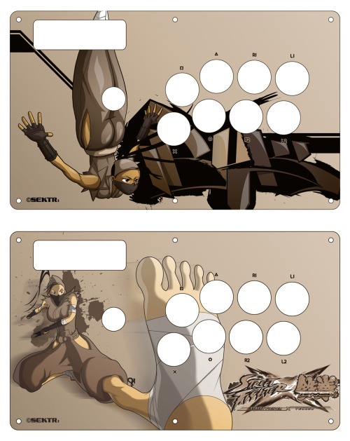 Tournament stick layouts A&B