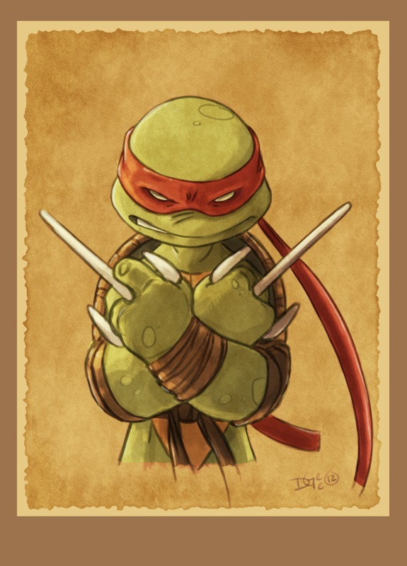 TMNT Raphael by Dax Gordine / Blog