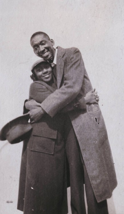 Dorothy West and Langston Hughes
