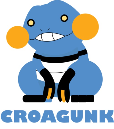 strawbthevolcarona:  This is a good croagunk picture