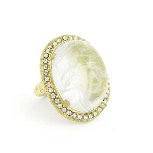 I've been looking for the right cocktail ring for a while now and this may just fit the bill. I love the misty stone and the tiny rhinestones seem like they are just the right amount of sparkle. The best part is, the color means it will go with anything! And $58 doesn't seem too bad for something so pretty.