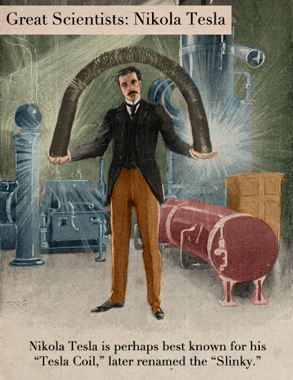 Great Scientists: Nikola Tesla