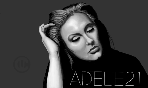 "Original Digital Art ""Adele"""