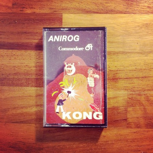 Kong, by Anirog, for the #c64  This has fond memories for me as it was the very first game I purchased. A train trip to Gamer in Brighton resulted in Kong in 1983. (Taken with instagram)