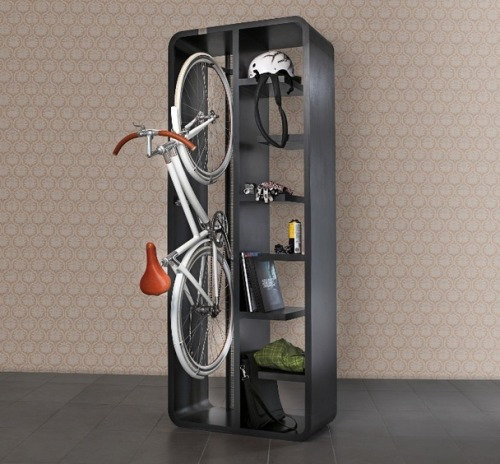 Hanging Bicycle Bookshelf - The Atlantic I WILL be building one of these