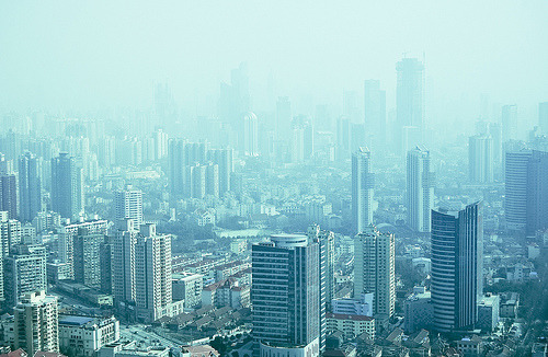 refero-mundus:  smog in Shanghai (by marin.tomic)  smog becomes the air and takes skyscrapers to a much further place Blog: Scribbling on the Computer ~ Twitter ~ Pinterest ~ Goodreads ~ Tumblr: Unconscious Plots
