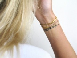 LOVE WRIST TATTOOS!