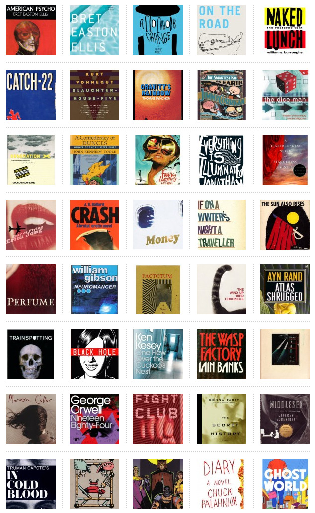 ShortList's 50 Coolest Books Ever. Get ready to argue…now!