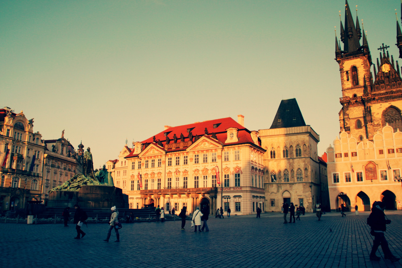 | ♕ |  Old Town Prague, Czech Republic  | by/via © xorunaways