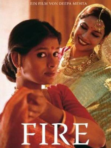 hinduthug:  Fire is a film by Deepa Mehta that was one of the first mainstream films in India to explicitly show homosexual relations. Starring Shabana Azmi and Nandita Das, the film is about two characters, Radha and Sita, who are married and eventually fall in love with each other. Radha, the older woman, remains bound by tradition while Sita refuses to accept misfortune and wishes to break free. (via Wikipedia and imdb) For the trailer, click here.  EROS movie night? Or a must-see on your own. It's not on Netflix instant watch though you can get it through the mail.