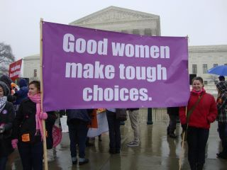 Roe V Wade anniversary……So sad that we still have to fight for rights that are legal.