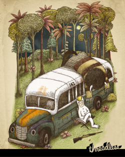threadless:  So hungry you could eat a…. Score Into the Wild Things by Alvaro Arteaga Sabaini now.