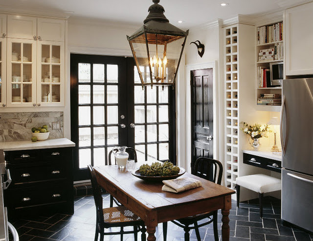 Black and White Kitchen!