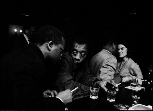 allthingsjamesbaldwin:  James Baldwin having a drink with his brother, David Baldwin, at a Broadway bar©1965   (image credit: Bob Adelman)  James Baldwin having a drink with his brother, David Baldwin, at a Broadway bar ©1965. Photo by Bob Adelman)