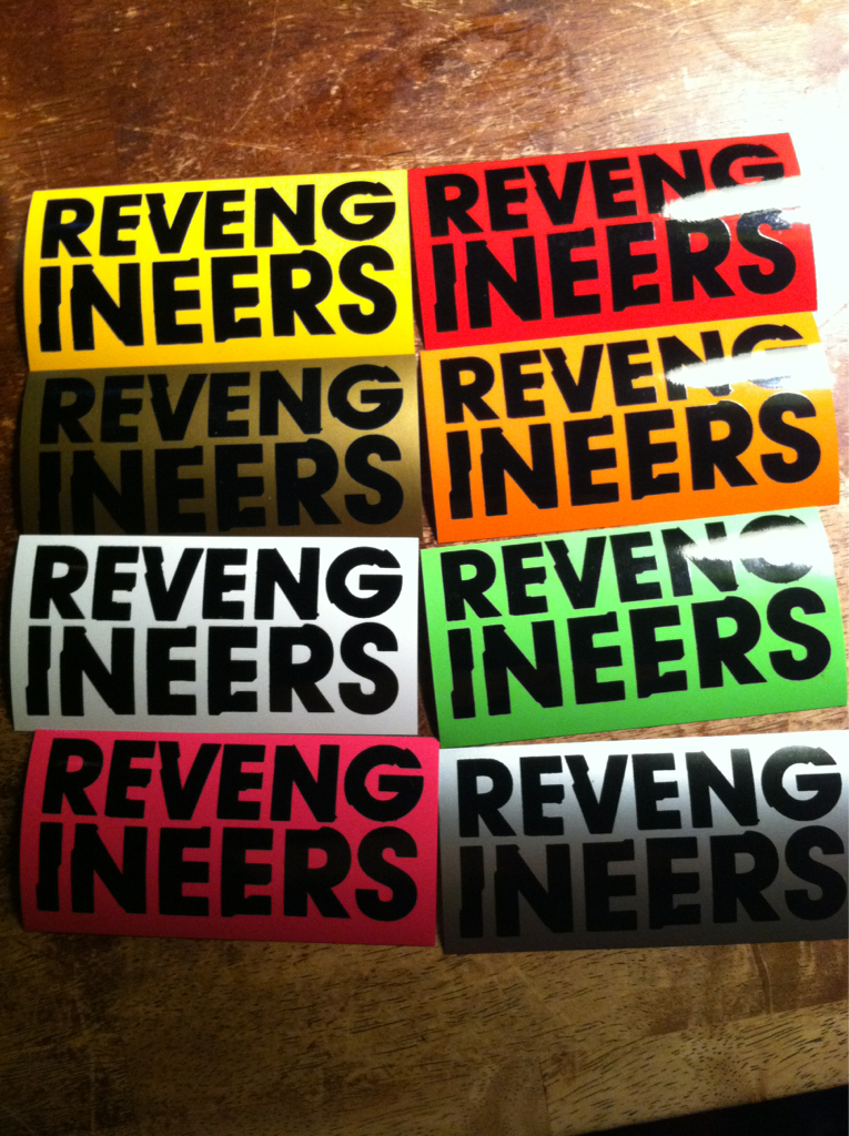 Revengineers stickers!