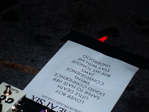 You Me At Six's setlist for January 25 in Chicago.