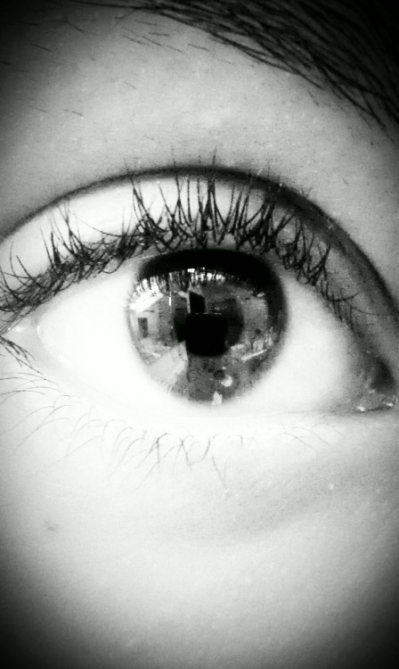 my eye..hah.