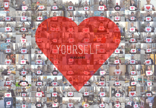 "Thank You for supporting and participating in our ""Love Yourself"" project! We'll be uploading the rest of the individual photos soon so please keep checking back."
