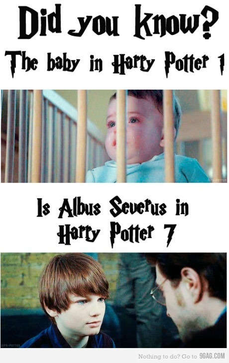 9gag:  Harry Potter mind fuck