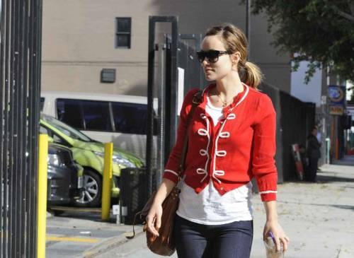 Olivia Wilde out in Los Angeles - January 24 2012