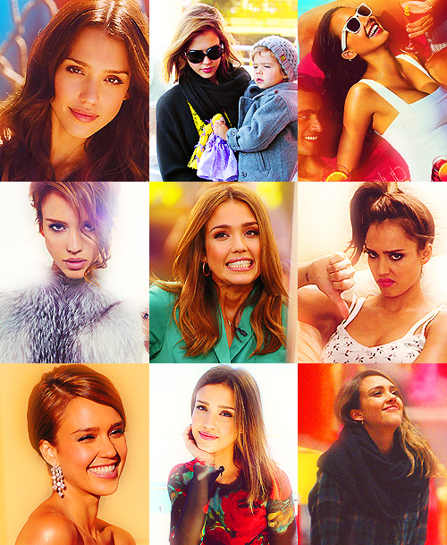 "Favorite People → Jessica Alba ""My theory is that if you look confident you can pull off anything - even if you have no clue what you're doing."""