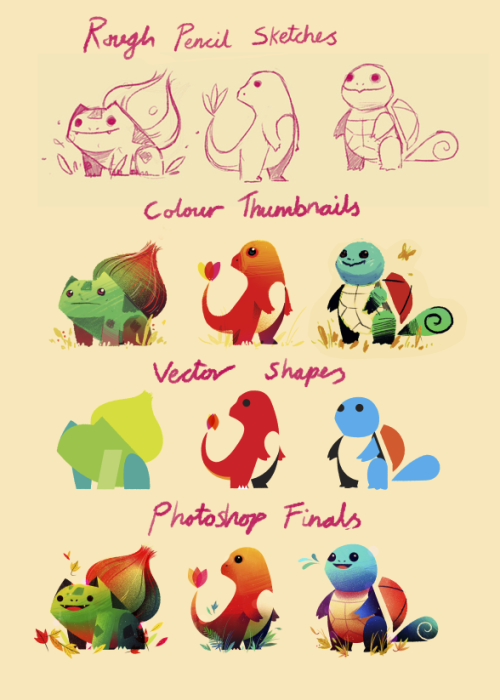 superpunch2:  Pokemon by Olly Moss.