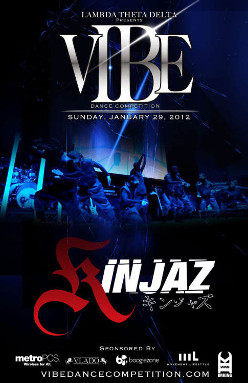 vibedancecompetition:  EXHIBITION | Kinjaz2012 VIBE 17 Dance Competition   Check out our Donuts this Sunday!! w/ your hosts:  Studio64Comedy - @kunballs @iamlawrencekao