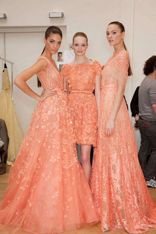 ay-en-you-jay-ay:  Elie Saab backstage 2012 spring/summer