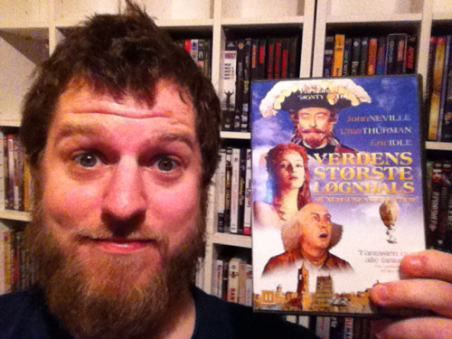 "#20 - The Adventures of Baron Munchausen   Director: Terry Gilliam   ""Is there a doctor in the fish?""   First of all I would like to apologise, this film review and viewing should have been in between ""Across the Universe"" and ""Airplane!"" – It simply got lost in my massive DVD collection – Smugface.  When it comes to living life, the only thing you have to remember is to live it. Death will always be trailing you, and as soon as you give up, or forget to live, death will catch up. A stunning trip through the brilliant imagination of Terry Gilliam, that always is a joy ride. A travel between reality and imagination, between fact and fiction and mostly between truth and lie – all of witch can be pretty vague at the most of times. This movie is the final part of Gilliam's unofficial trilogy of the three stages of man, and the impact of imagination on them. This one is off cause the stage of the elderly (the others being youth = Time Bandits and Middle age = Brazil). John Neville gives an extraordinary performance as the Baron, and it is actually a role with many coatings. The character is in constant change, and almost in every scene he becomes either older or younger, according to his state of mind, and to how old/young he feels in the given moment, and that is a handsome touch to the feeling of the entire movie, you are only as old/young as you feel – or you can only handle what you think you can handle. It is fascinating to watch this kind of movie set to screen, filled with scenes bigger than most people's fantasies. Its mind blowing how all this total madness and twistedness can fit into the brain of one man, and somehow not end him up in a hospital – let alone give him the talent to show it to the rest of us – and he proves that CGI is total rubbish compared to the actual thing happening, and also how much it means to build a set, instead of using fucking green screens..! I am grateful that I have been watching Terry Gilliam movies since I was a kid, and to have been able to see these images of wonder and total madness, spiced with ridiculously magnificent stories and magical journeys to the imagination. Thank you Terry.   8/10"