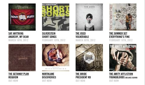 Coming Soon: Say Anything, Silverstein, The Used and The Summer SetAvailable Now: The Getaway Plan, Northlane, The Bride and The Amity Affliction [STORE]