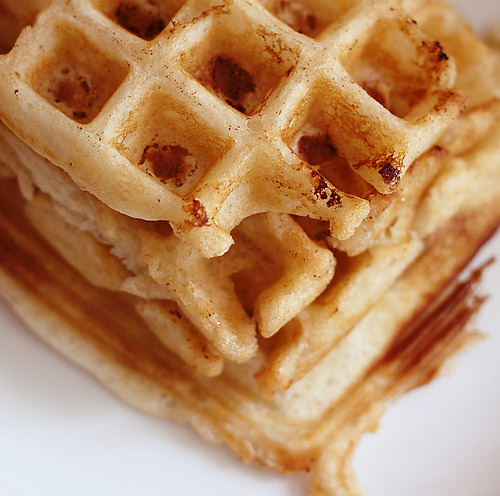 Buttermilk Waffles with no eggs