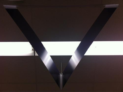 walgreens ceiling sign. chicago.