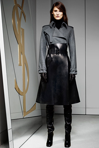 Yves Saint Laurent Pre-Fall 2012 Model: Marie Piovesan