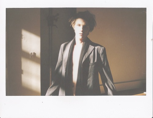 clint @Requestmodels polaroid 5hair/mua @kelleyfarlowphotographer @marcushyde