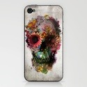 Oh wow, I want this. (via SKULL 2 iPhone Case by Ali GULEC | Society6)