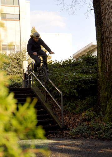 Blair - Double peg down campus rail