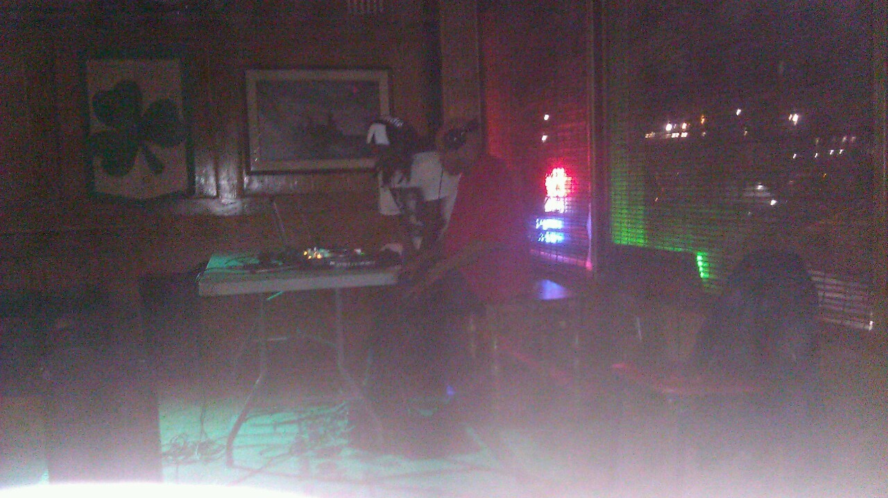 My favorite #djkillakwest @ the Irish wolf pub Scranton pa !!! Come check him out !! $5 cover