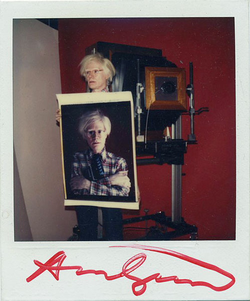 Andy Warhol actual size. nevver:  Andy, take my picture.