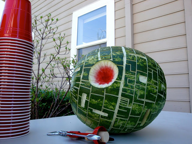 Death Star Watermelon
