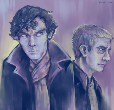 mori-art:fanart for the bbc